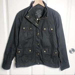 JCREW Relaxed Boyfriend Field Jacket size medium